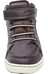 Viking Moss Mid Shoes Junior Dark Brown/Charcoal